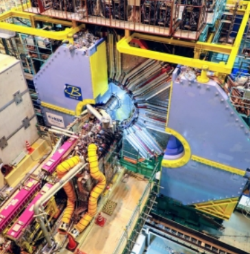The Belle-II detector at KEK (Belle-II coll. credits)